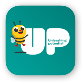 Busy Bees UP Logo